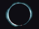 Eclipse of the sun Fotografie-Druck von Karl Kinne