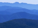 Mountain Ridges at Dawn in Australian Alps Photographic Print by Theo Allofs