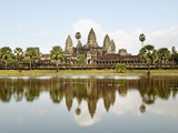 View of Angkor Wat City, Angkor, Cambodia Photographic Print by JoSon 