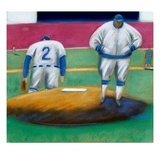 Baseball Blues Giclee Print by Jud Guitteau