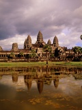 Angkor Wat temple, Cambodia, Asia Photographic Print by Angelo Cavalli