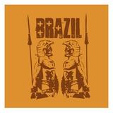 Brazil Giclee Print