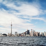 Skyline of Toronto, Ontario, Canada with Lake Ontario Photographic Print by Christopher Stevenson