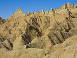 Eroded Sandstone Buttes and Pinnacles Photographic Print by John Eastcott & Yva Momatiuk