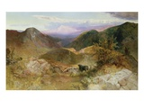Glen Ogle, Scotland Giclee Print by John Samuel Raven
