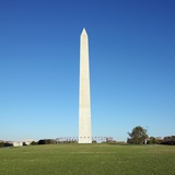 Washington Monument and Reflecting Pool Photographic Print by Ron Chapple