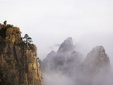 Mountains and Fog Photographic Print by Frank Lukasseck