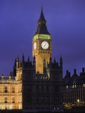 Big Ben Clock Tower Photographic Print by Laurie Chamberlain