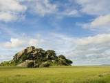 Rock Formations in Serengeti National Park Photographic Print by Bob Krist