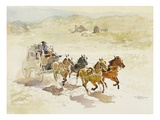 Pursuit Giclee Print by LaVere Hutchings