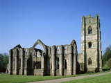 Fountains Abbey Photographic Print by Steven Vidler