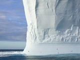 Massive Tabular Iceberg  Sculpted by Waves Photographic Print by John Eastcott &amp; Yva Momatiuk