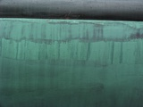 Detail of sailboat hull Photographic Print by Marshall Sokoloff