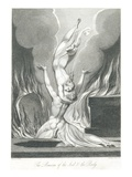 The Reunion of the Soul and the Body Giclee Print by William and Louis Blake and Schiavonetti
