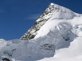 Jungfrau Peak Photographic Print by Mike McQueen