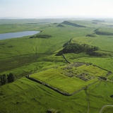 Housesteads Fort and Hadrian&#39;s Wall Photographic Print