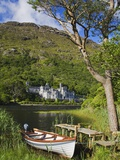 Kylemore Abbey and Kylemore Lough Photographic Print by Richard Cummins
