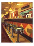 Corner Cafe Giclee Print by Pam Ingalls