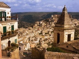 View Over Ragusa Photographic Print by Bruno Ehrs