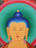 Tibetan Buddha Tanka Photographic Print by Fred de Noyelle