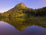 Yakima Peak and Tipsoo Lake Photographic Print by Craig Tuttle