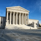 Supreme Court Building Photographic Print by Ron Chapple