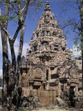 Ruins of Prasat Phanom Rung in Thailand Photographic Print by Luca Tettoni