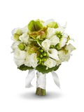 Bridal Bouquet Photographic Print by Lew Robertson