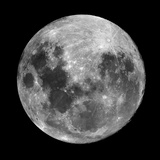Mond Fotografie-Druck