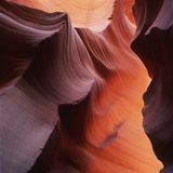 Sandstone Formations in Southwest USA Desert Photographic Print