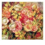 Roses Giclee Print by Pierre-Auguste Renoir