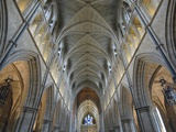 Nave of Southwark Cathedral in London Photographic Print by Bo Zaunders