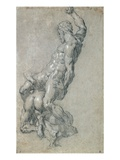 Samson Killing the Philistines Giclee Print by Jacopo Tintoretto