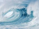 Crashing Waves Fotografie-Druck von Mark A. Johnson