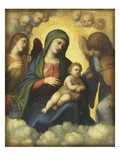 Madonna and Child in Glory Giclee Print by  Correggio