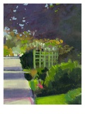 Under the Plum Giclee Print by Lou Wall