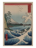Sea at Satta in Suruga Province Giclee Print by Ando Hiroshige