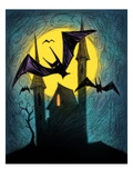 Bats Giclee Print by Harry Briggs