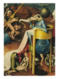 Detail of Hell (Right Panel) from The Garden of Earthly Delights Giclee Print by Hieronymous Bosch