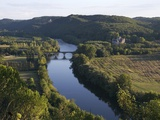 Dordogne River in France Photographic Print by Patrick Ward