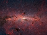 Center of Milky Way Galaxy from Spitzer Space Telescope Photographic Print