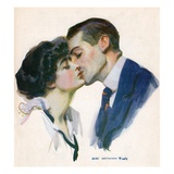 The Kiss Giclee Print by James Montgomery Flagg