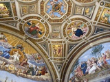 Paintings in Stanza della Segnatura at Vatican Palace Photographic Print by Paul Seheult