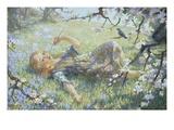 Sans Souci Giclee Print by Daniel Pender Davidson