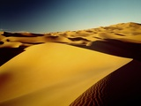 Saharan Sand Dunes Photographic Print by Kazuyoshi Nomachi