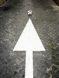 This Way to Soccer Photographic Print by Max Power