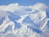 Mt. McKinley on Sunny Day Photographic Print by John Eastcott & Yva Momatiuk