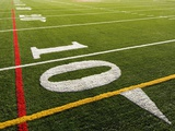 Football Field Photographic Print by Grafton Smith