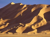 Vehicle and Large Sand Dune Photographic Print by Kazuyoshi Nomachi