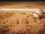 Baseball Photographic Print by Randy Faris